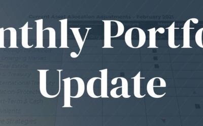 February 2021 | Portfolio Update