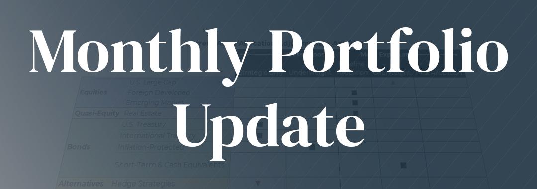 October 2021 | Portfolio Update